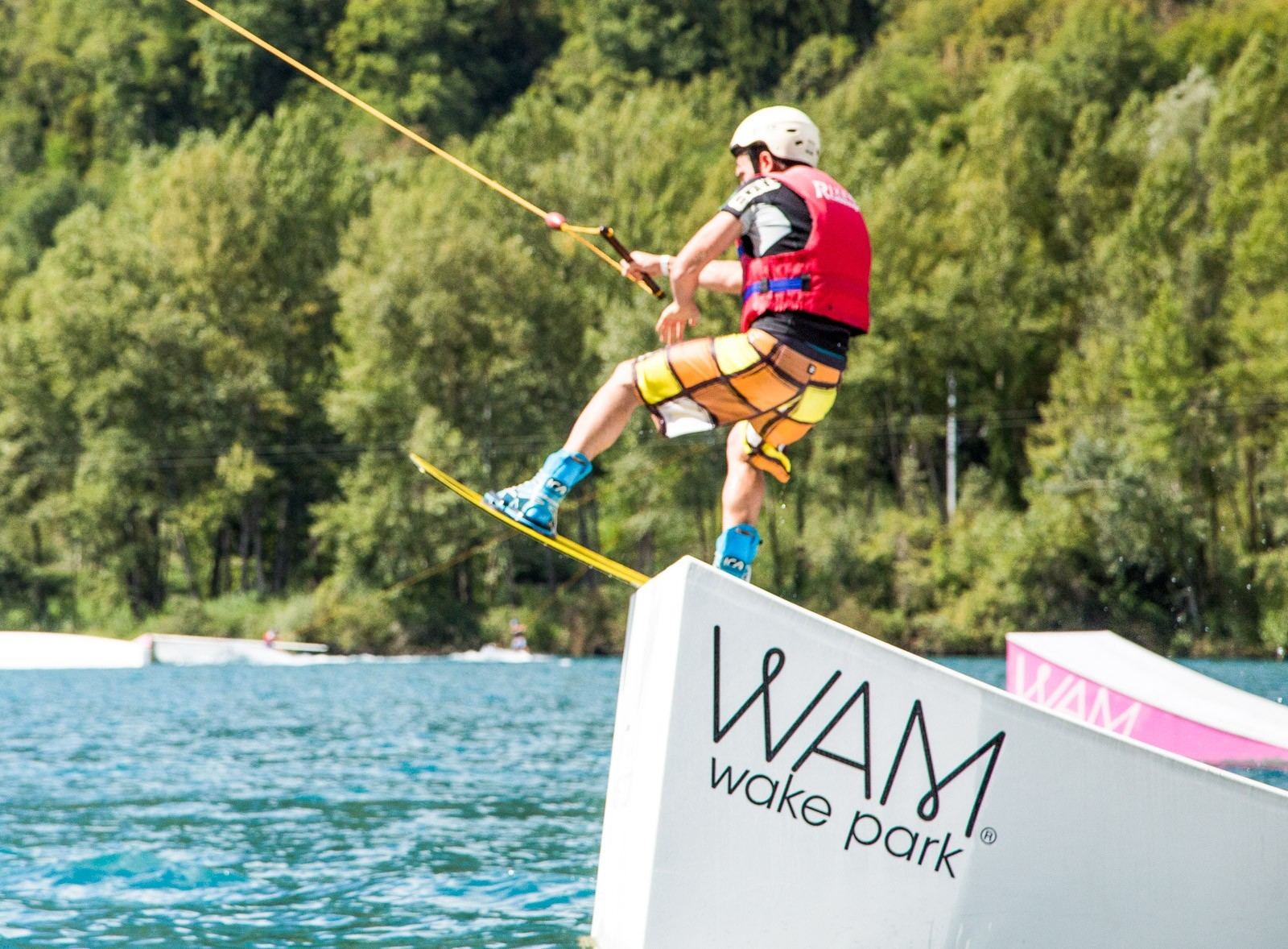 Wakeboard - Wake park cable en savoie