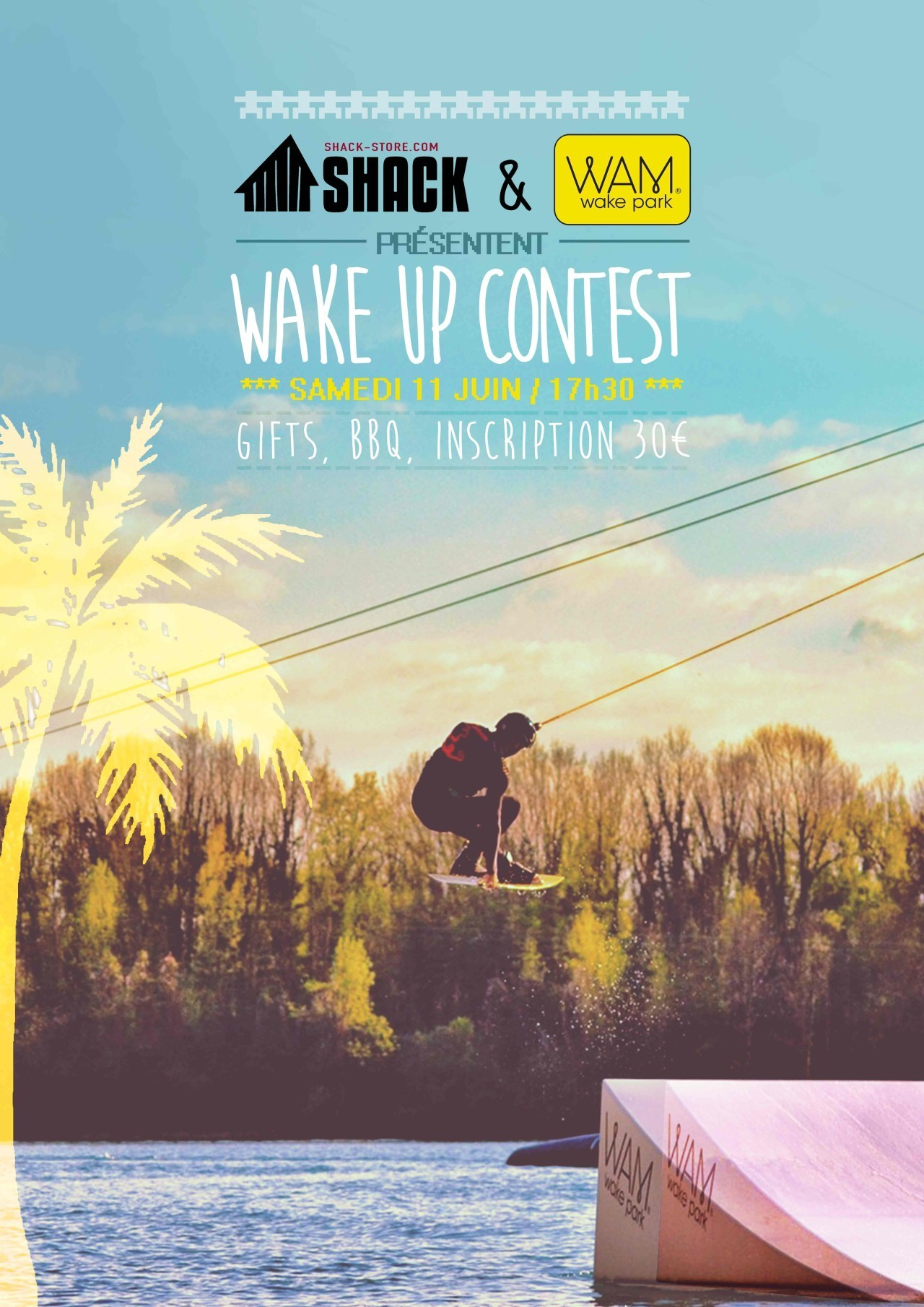 Affiche-WAM - wake me up contest