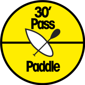 pass location paddle 30 min