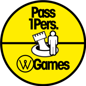 Pass 1 personne - water games