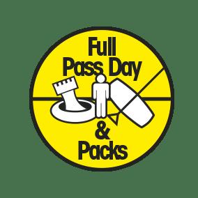 Full pass day & packs